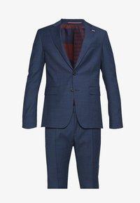 Tommy Hilfiger Tailored - SLIM FIT FAKE SOLID SUIT - Garnitur - blue - 6