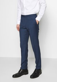 Tommy Hilfiger Tailored - SLIM FIT FAKE SOLID SUIT - Garnitur - blue - 4