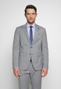 Tommy Hilfiger Tailored - SUIT SLIM FIT - Oblek - grey - 2