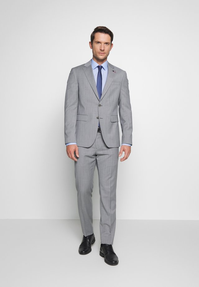 SUIT SLIM FIT - Dress - grey