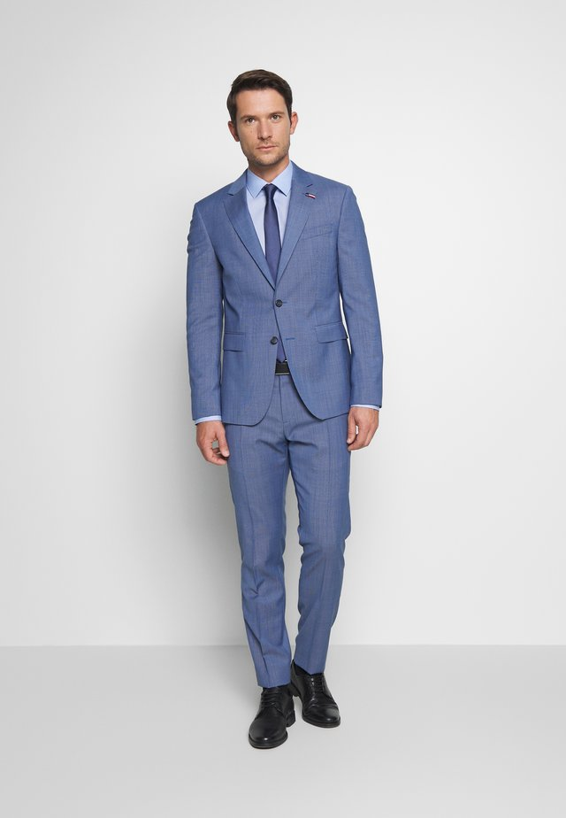 SUIT SLIM FIT - Dress - blue