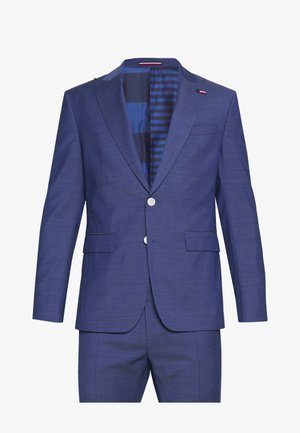 PEAK LAPEL SUIT SLIM FIT - Suit - blue