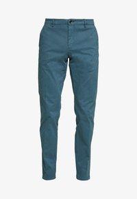 Tommy Hilfiger Tailored - STRETCH SLIM FIT PANTS - Pantaloni - blue - 4