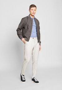 Tommy Hilfiger Tailored - SLIM FIT BLEND PANT - Trousers - grey - 1