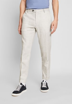SLIM FIT BLEND PANT - Pantalones - grey