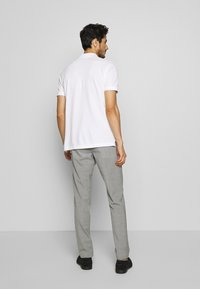 Tommy Hilfiger Tailored - SLIM FIT SOLID BLEND PANT - Kangashousut - grey - 2
