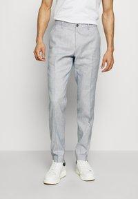 Tommy Hilfiger Tailored - SLIM FIT FLEX PANT - Pantalones - blue - 0