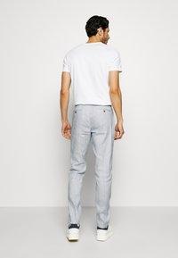 Tommy Hilfiger Tailored - SLIM FIT FLEX PANT - Pantalones - blue - 2