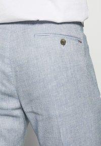 Tommy Hilfiger Tailored - SLIM FIT FLEX PANT - Pantalones - blue - 3