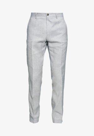 SLIM FIT FLEX PANT - Trousers - blue