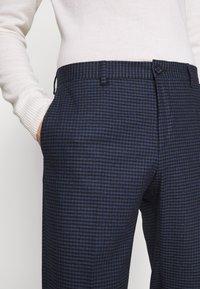 Tommy Hilfiger Tailored - GINGHAM CHECK SLIM FIT PANT - Pantaloni - black - 3