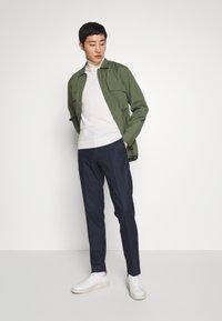 Tommy Hilfiger Tailored - GINGHAM CHECK SLIM FIT PANT - Pantaloni - black - 1