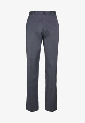 FLEX MICRO STRIPE SLIM FIT PANT - Trousers - blue