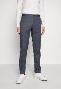 Tommy Hilfiger Tailored - FLEX MICRO STRIPE SLIM FIT PANT - Pantaloni - blue - 0