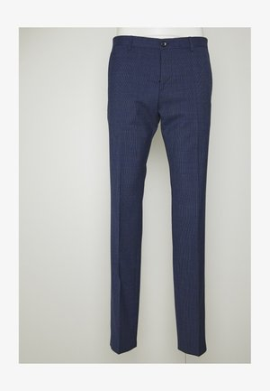 MINI HOUNDSTOOTH SLIM FIT PANT - Trousers - blue