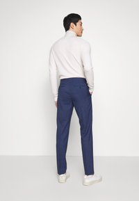 Tommy Hilfiger Tailored - MINI HOUNDSTOOTH SLIM FIT PANT - Pantaloni - blue - 2
