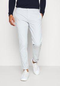 Tommy Hilfiger Tailored - FLEX SLIM FIT PANT - Pantaloni - grey - 0