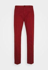 Tommy Hilfiger Tailored - FLEX SLIM FIT PANT - Pantaloni - red - 3