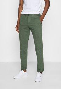 Tommy Hilfiger Tailored - FLEX SLIM FIT PANT - Pantaloni - green - 0