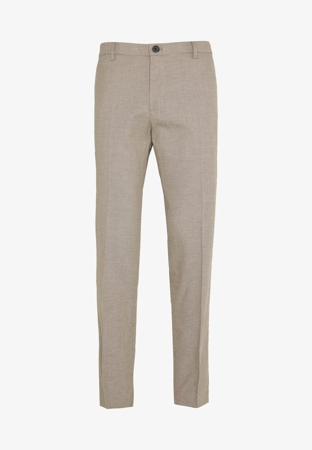 FLEX SLIM FIT PANT - Bukser - brown