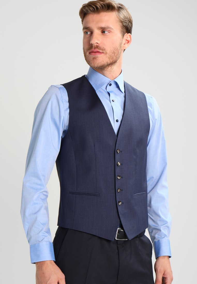 Tommy Hilfiger Tailored - WEBSTER - Suit waistcoat - blue
