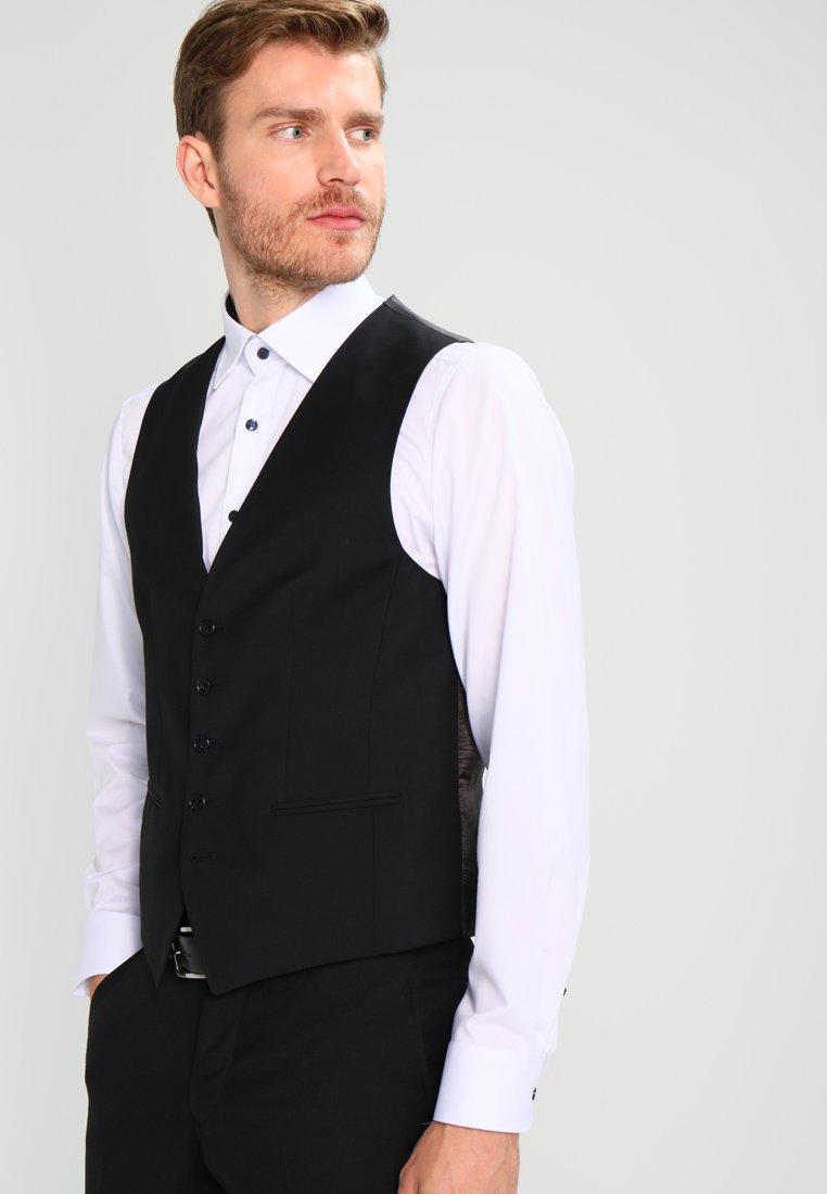 Tommy Hilfiger Tailored - WEBSTER - Suit waistcoat - black