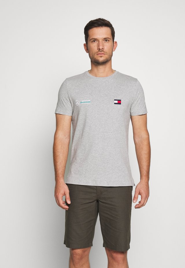 TOMMY X MERCEDES-BENZ - T-shirts basic - grey