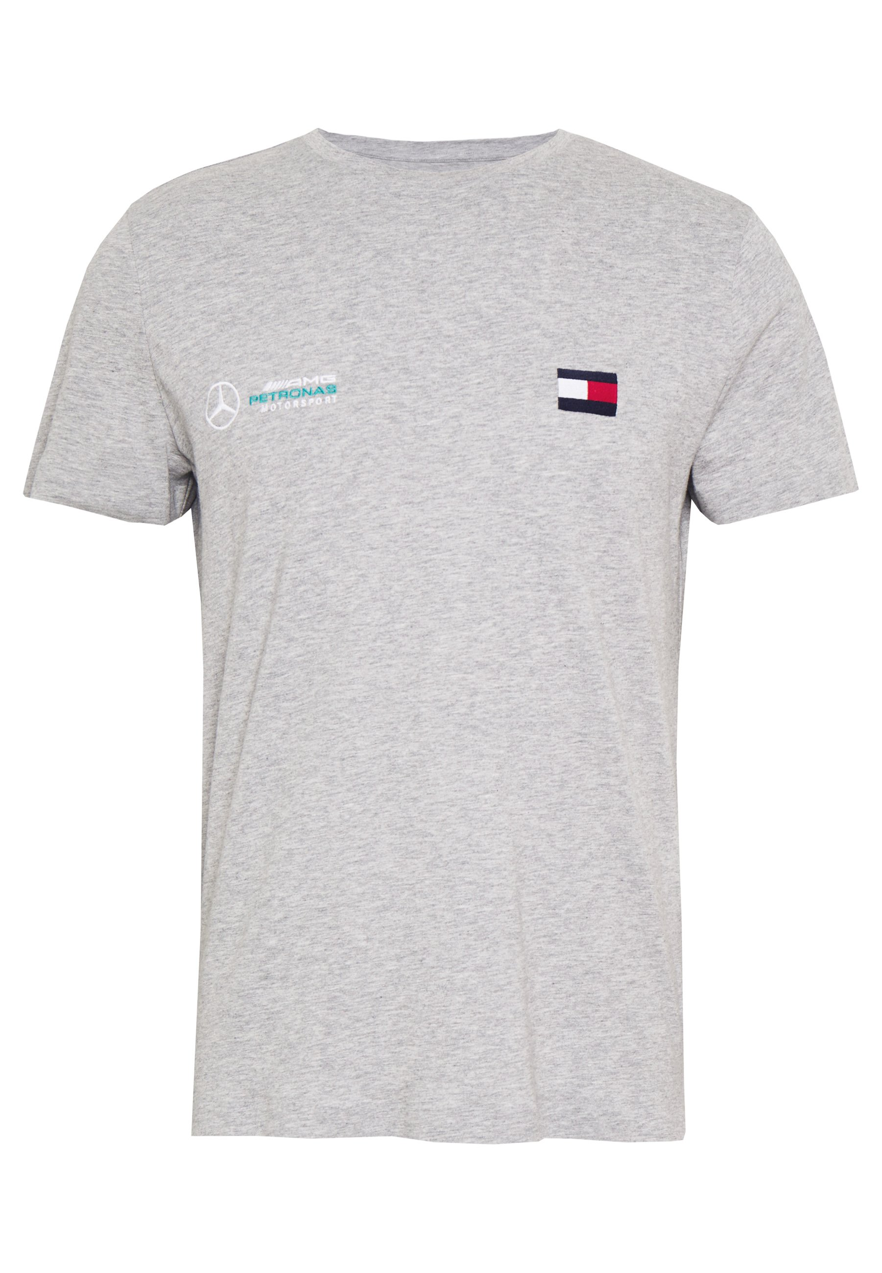 Tommy Hilfiger Tailored TOMMY X MERCEDES-BENZ - Basic T-shirt - grey
