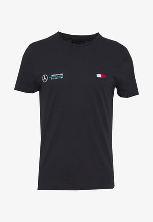 TOMMY X MERCEDES-BENZ - Basic T-shirt - blue