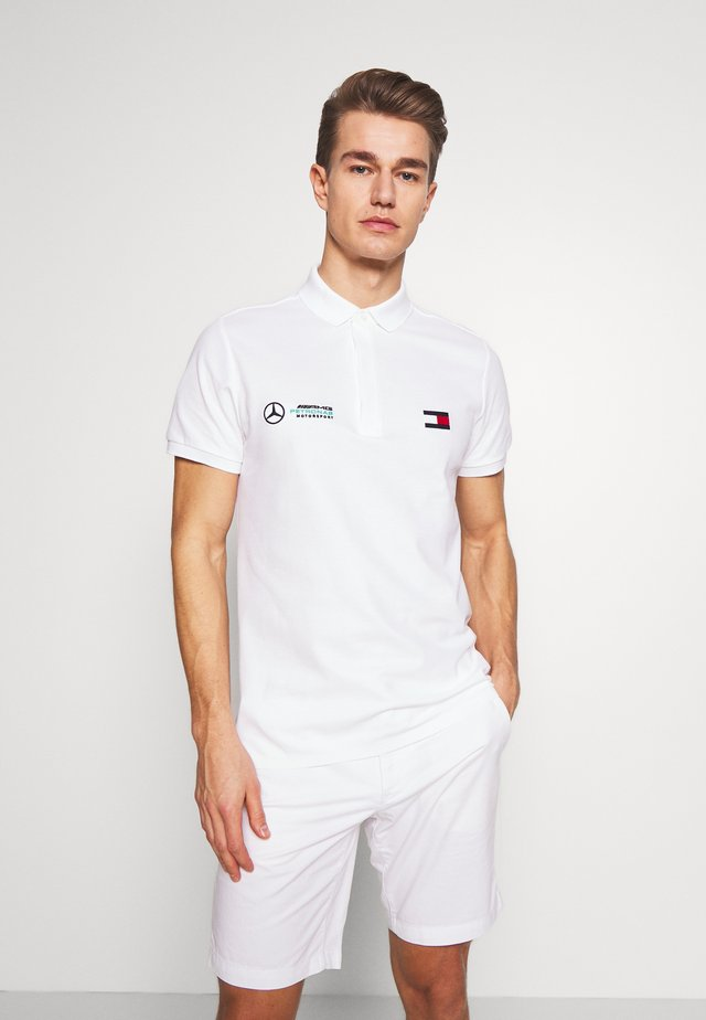 TOMMY X MERCEDES-BENZ - Poloshirts - white