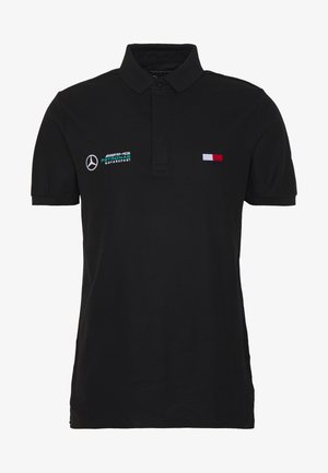 TOMMY X MERCEDES-BENZ - Polo shirt - black
