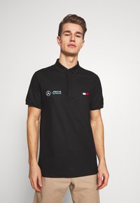 Tommy Hilfiger Tailored - TOMMY X MERCEDES-BENZ - Polo shirt - black - 0
