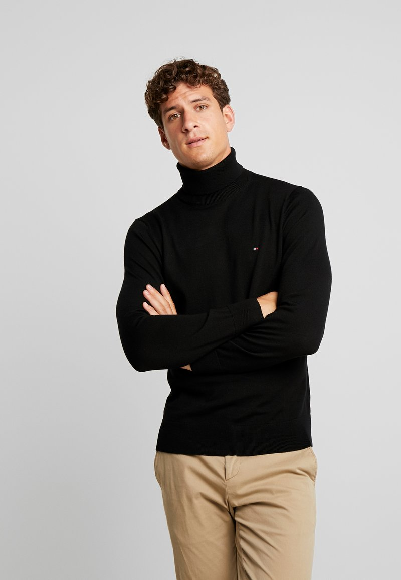 Tommy Hilfiger Tailored - LUXURY ROLL NECK - Maglione - black