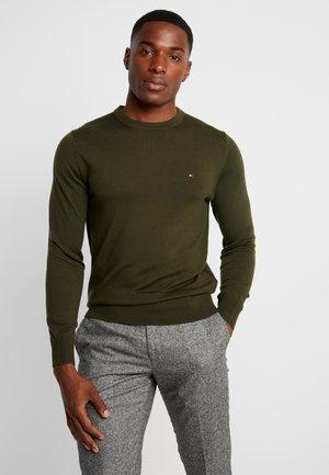 LUXURY - Stickad tröja - green