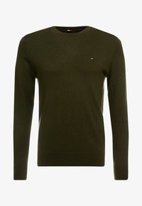 Tommy Hilfiger Tailored - LUXURY - Neule - green - 4