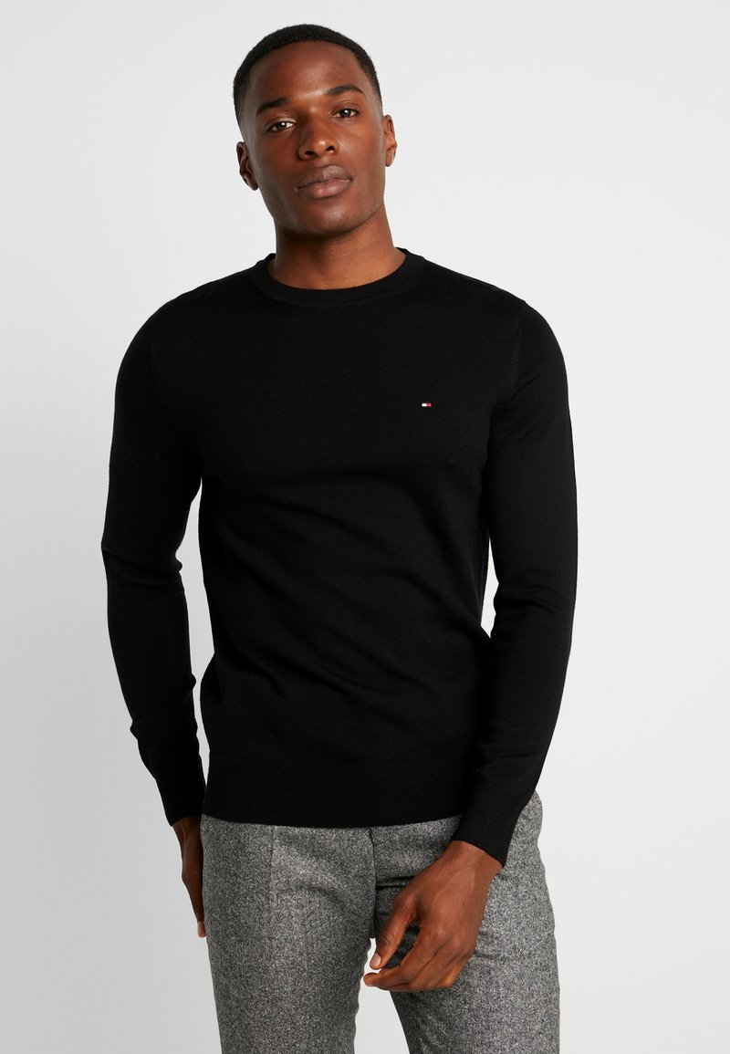 Tommy Hilfiger Tailored - LUXURY - Strickpullover - black