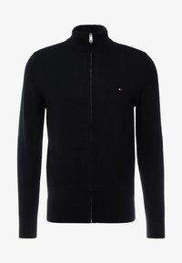 Tommy Hilfiger Tailored - LUXURY ZIP THROUGH - Kardigan - black - 3