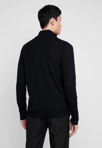 Tommy Hilfiger Tailored - LUXURY ZIP THROUGH - Kardigan - black - 2