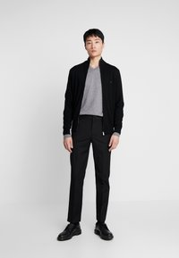 Tommy Hilfiger Tailored - LUXURY ZIP THROUGH - Kardigan - black