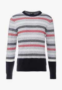 Tommy Hilfiger Tailored - CHUNKY ICON CREW NECK - Pullover - grey - 3