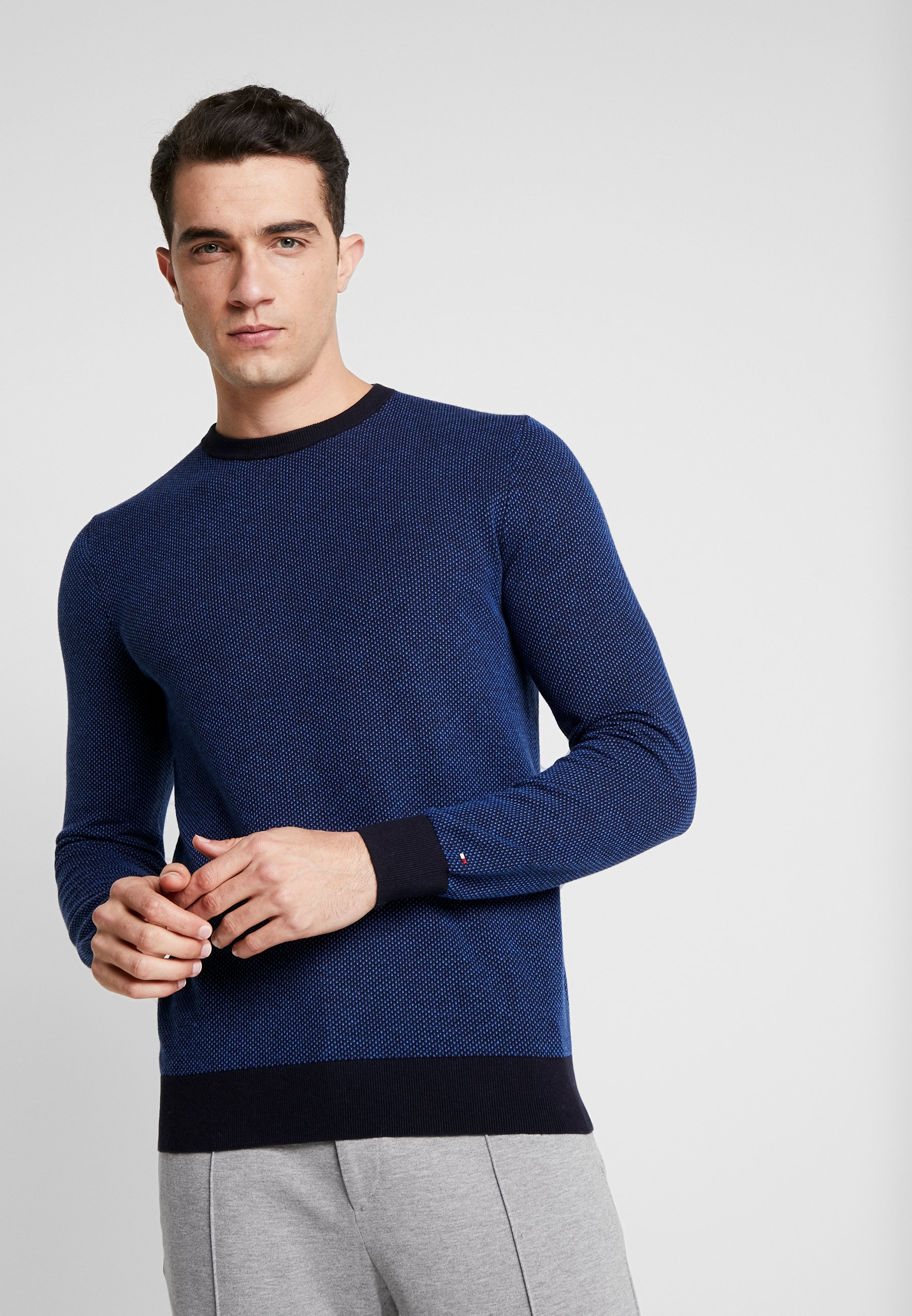 Tommy Hilfiger Tailored CREW NECK - Sweter - blue