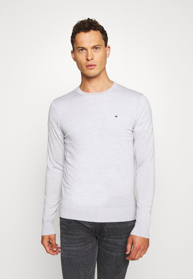 FINE GAUGE LUXURY CREW - Strickpullover - grey