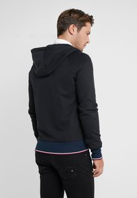 Tommy Hilfiger Tailored - TECH ZIP THRU - Sweatjacke - black - 2