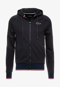 Tommy Hilfiger Tailored - TECH ZIP THRU - Sweatjacke - black - 7