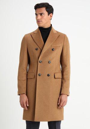 BLEND DOUBLE BREASTED COAT - Manteau classique - camel