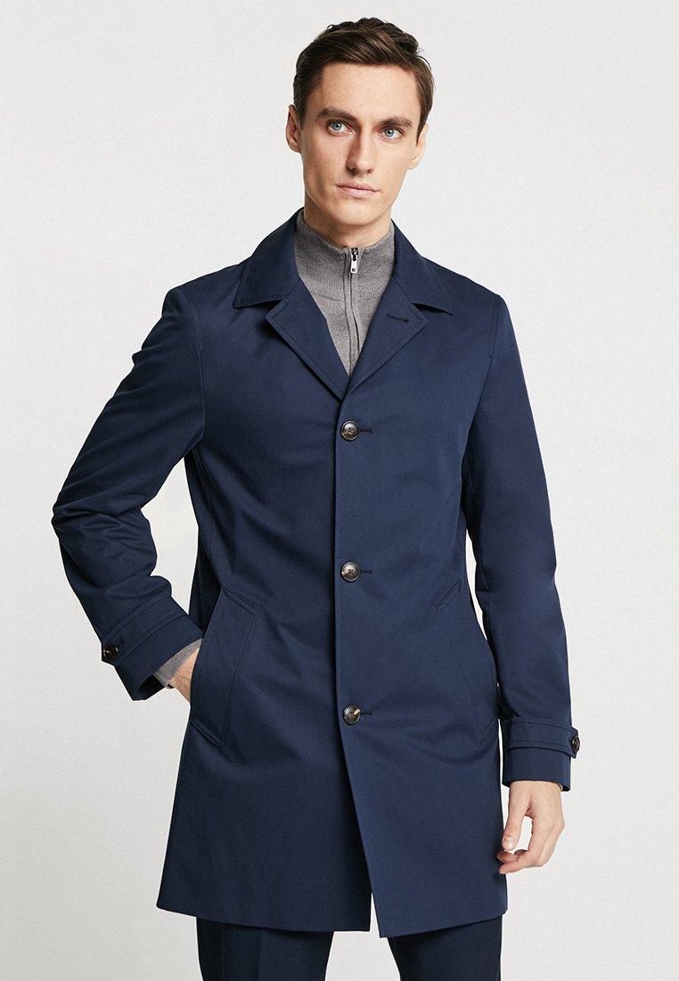 Tommy Hilfiger Tailored - CAR COAT - Wollmantel/klassischer Mantel - blue