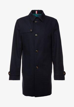 TEXTURE UTILITY COAT - Trenchcoat - blue