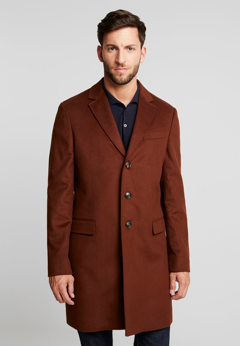 Tommy Hilfiger Tailored - CHESTFIELD COAT - Mantel - brown