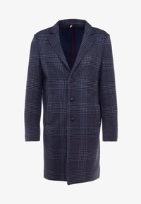 Tommy Hilfiger Tailored - UNLINED CHECK OVERCOAT - Manteau classique - blue - 3