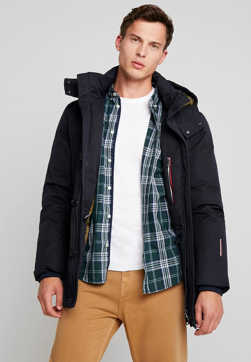 Tommy Hilfiger Tailored - BLEND ECO - Down coat - blue